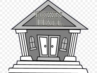 City Hall Town Hall Meeting Clip Art PNG 676x618px City Hall Art Black And White Building