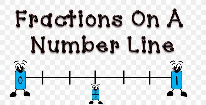 Number Line Fraction Bars Worksheet, PNG, 869x446px