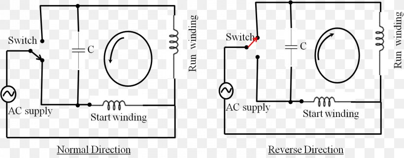 Wiring Diagram Single-phase Electric Power Electrical