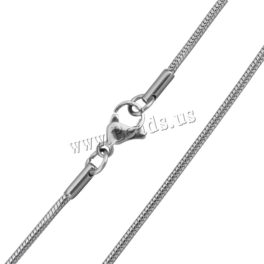 Stainless Steel Nekclace Chain snake chain original colo