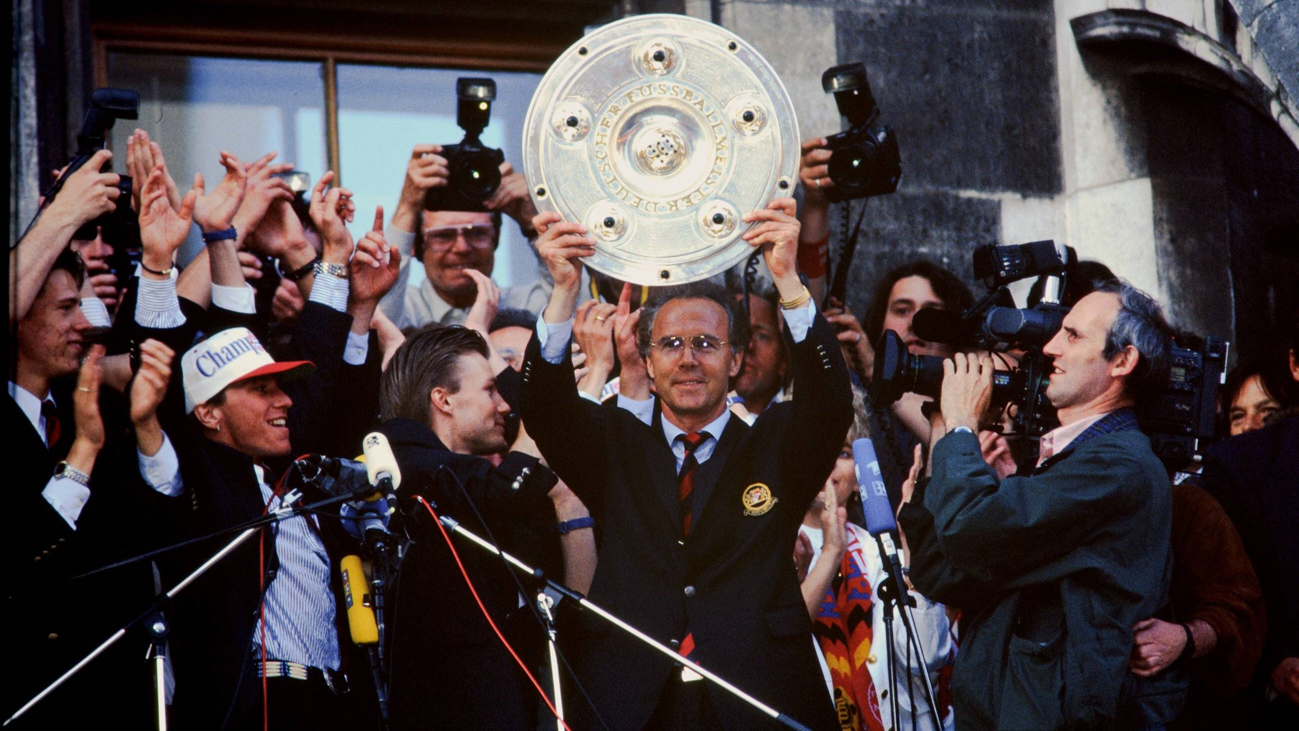 A Look Back Beckenbauer S Title Triumph With Fc Bayern