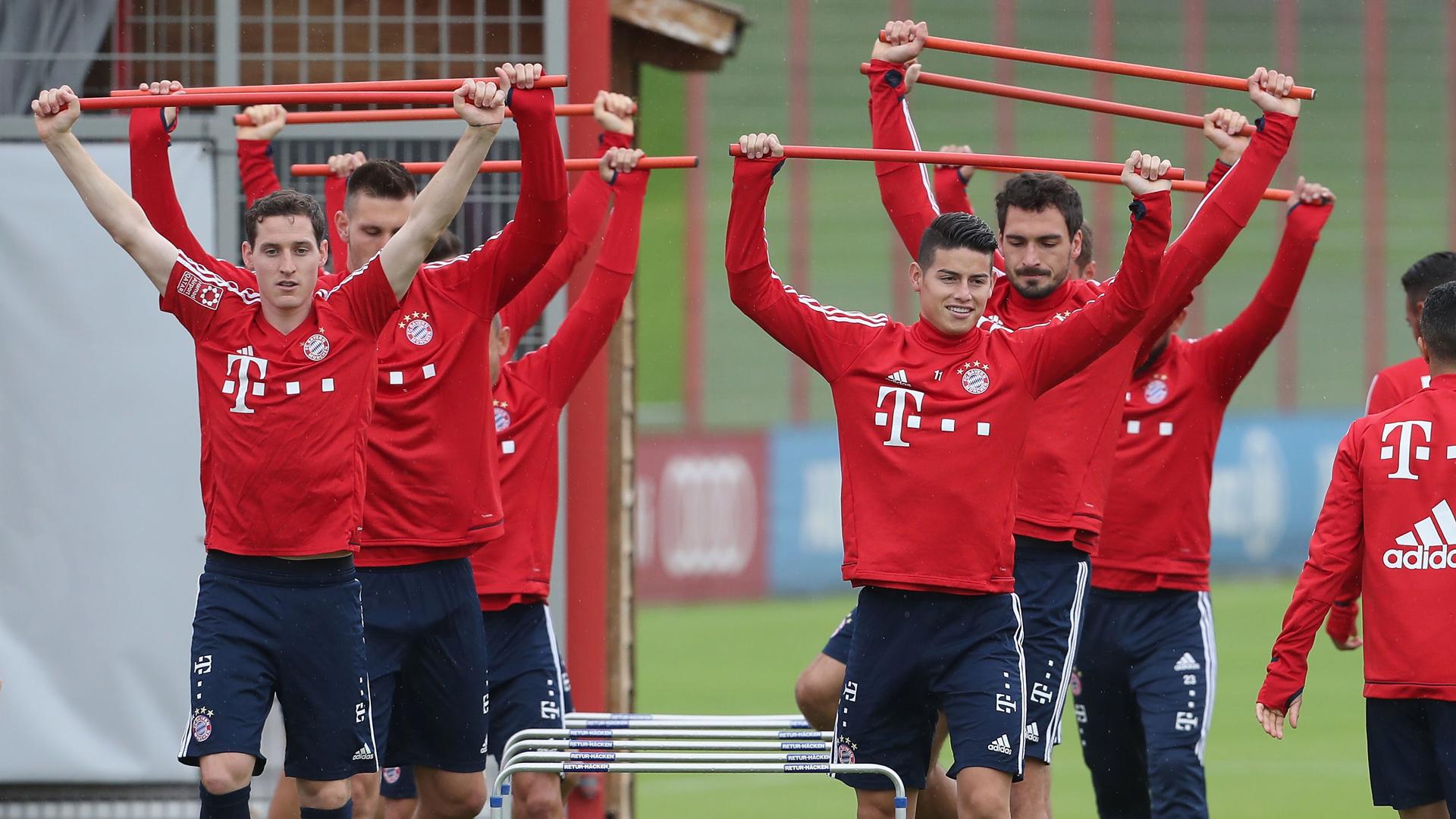 Bayern Prepare For Mainz Mission