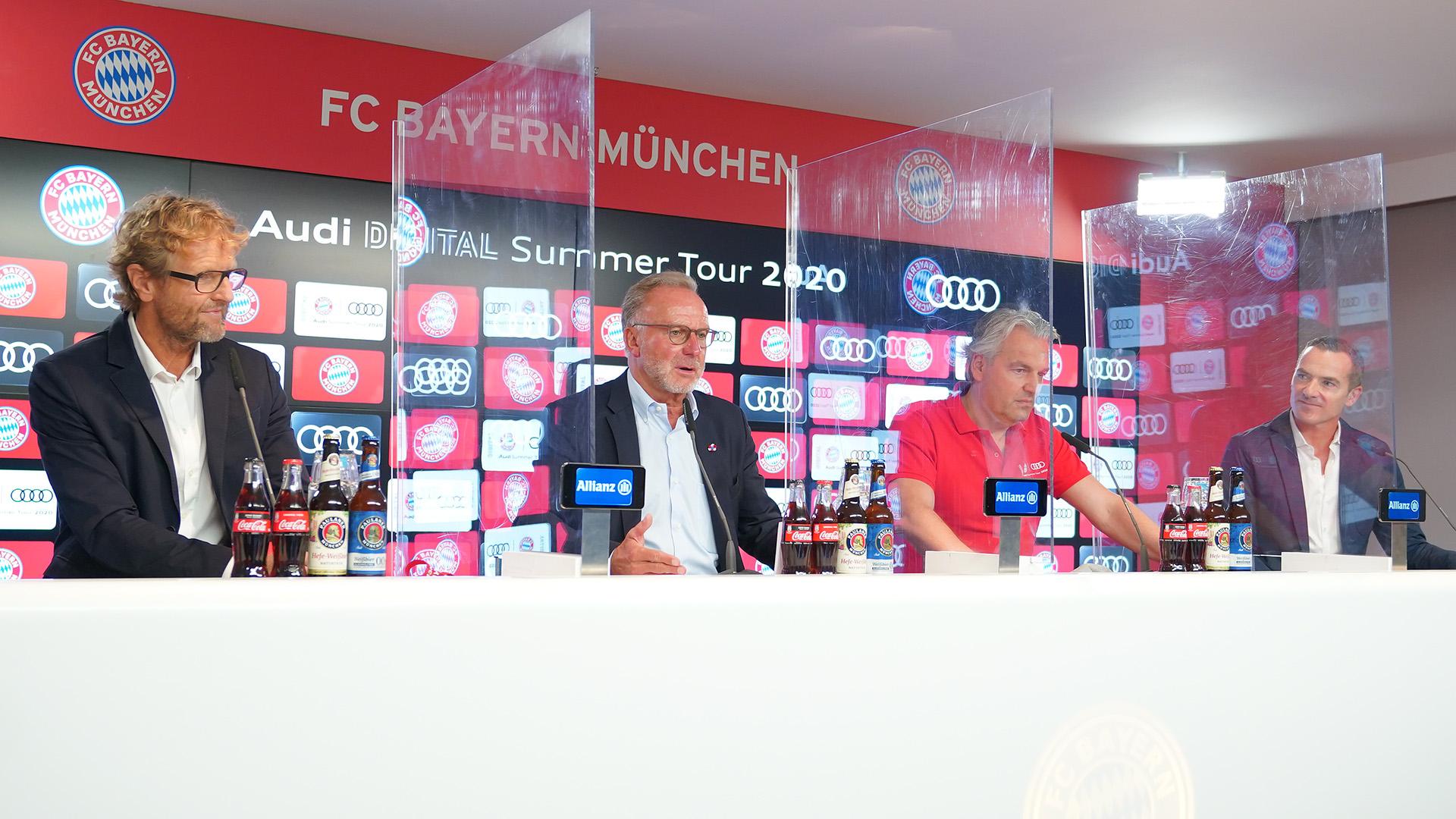 Live Press Conference With Karl Heinz Rummenigge Jorg