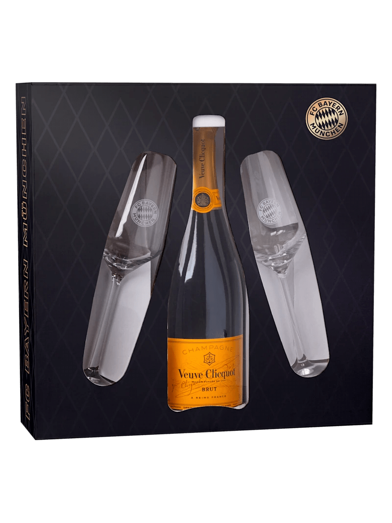 veuve clicquot champagner set