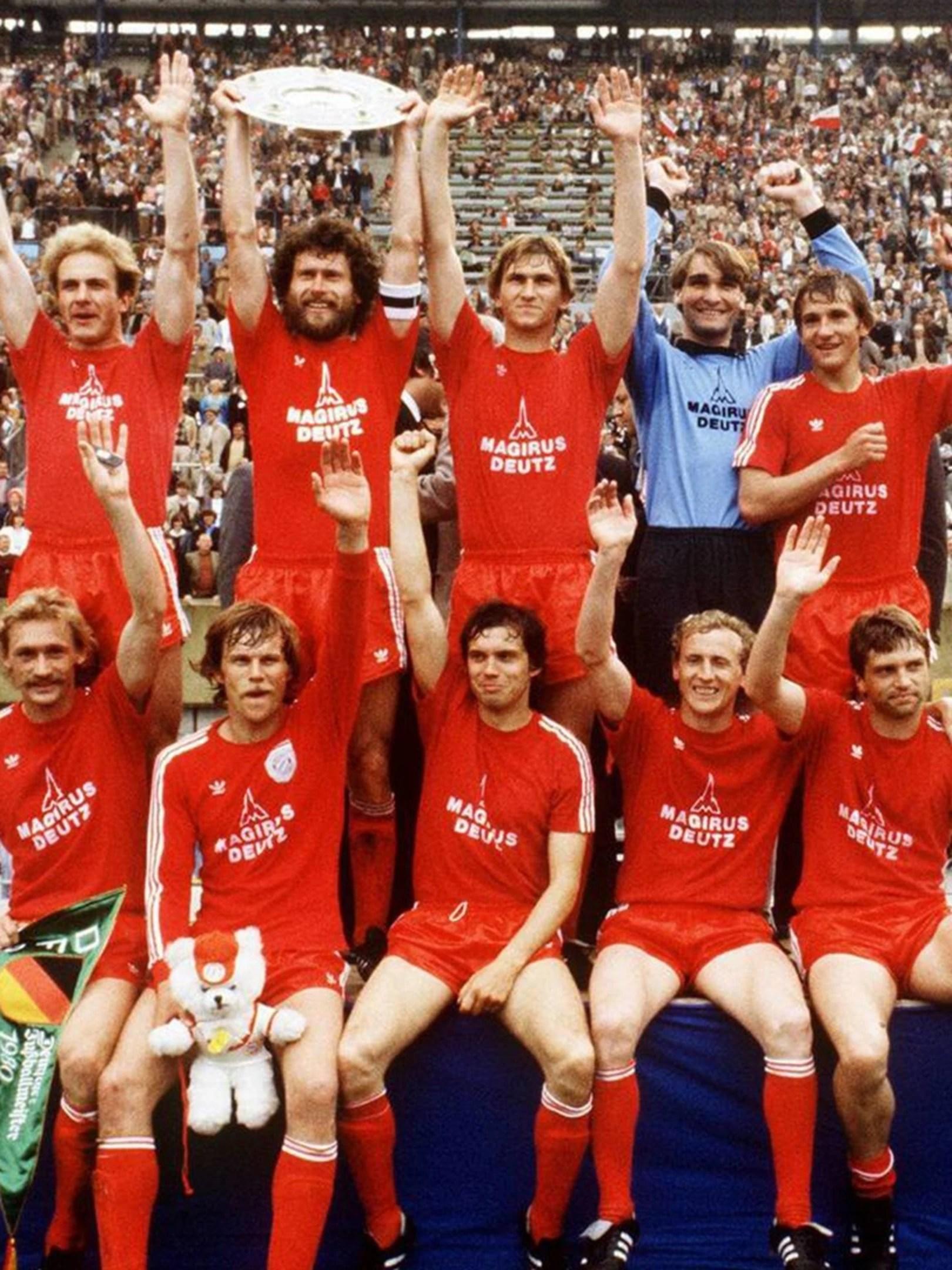 deutscher meister 1980 fc bayern munchen