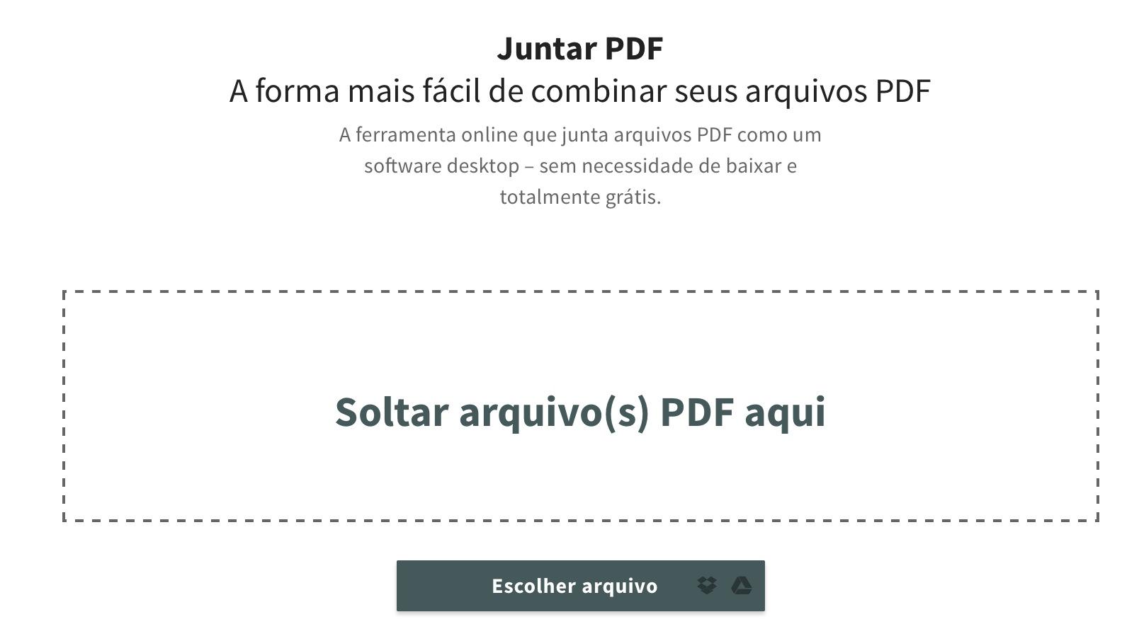 Smallpdf | A ferramenta online para tratar os seus PDFs