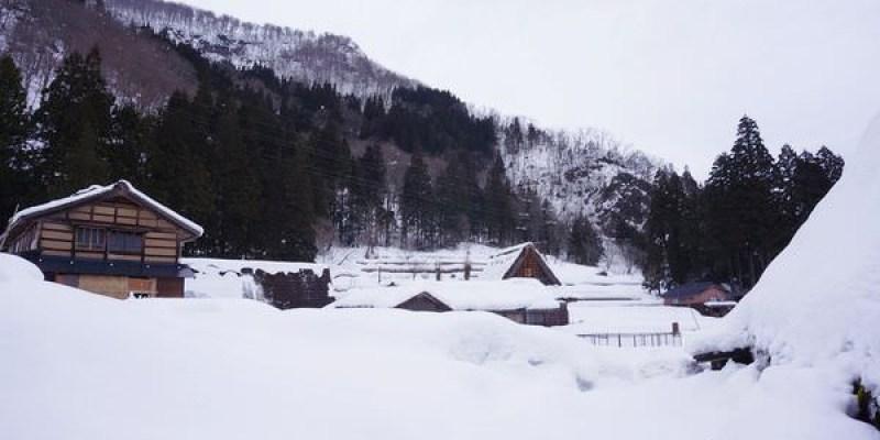 雪地裡的五箇山相倉合掌村~規模比白川鄉合掌村小,但雪地美景無敵的童話世界
