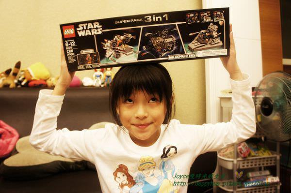 [好物]Costco勸敗好物Lego:好市多樂高積木星際大戰系列,一盒三組,據說很划算!