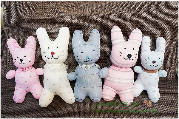 [手作聚會]獨一無二的襪子娃娃兔寶寶