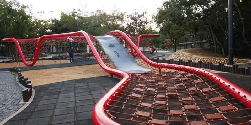 台中一日遊 清水鰲峰山公園~好好玩的競合遊戲體驗場 跑酷競技親子同樂