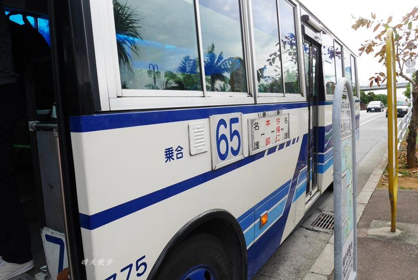 沖繩親子遊|沖繩不自駕~從海洋博公園搭公車65號到今歸仁城 - 晴天散步