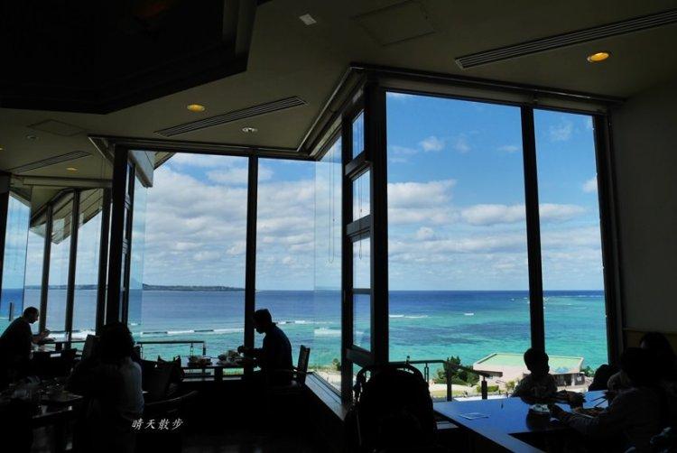 沖繩親子遊 美麗海水族館海上觀景餐廳INOH午餐吃到飽 海洋博公園無敵海景平價buffet
