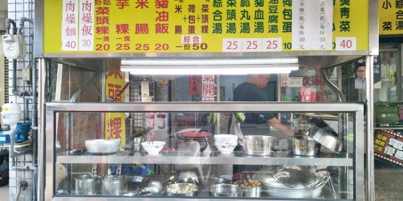萬代福古早味菜頭粿~古早味平價小吃 近萬代福影城、中華路夜市