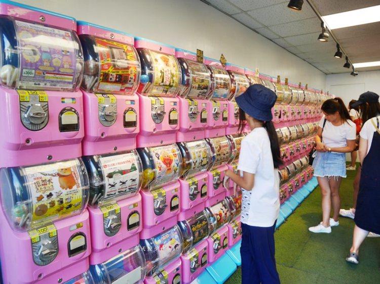 台中扭蛋|審計櫻花扭蛋小學堂~審計新村粉嫩嫩可愛扭蛋店