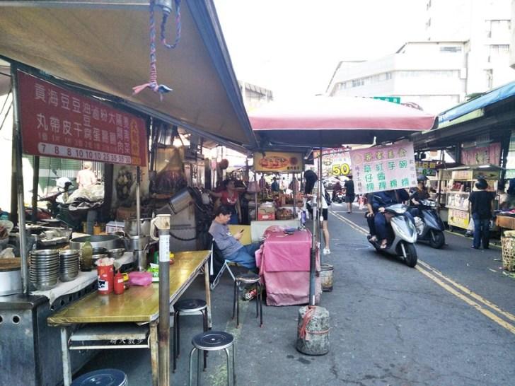 20181204230134 86 - 第三市場大麵羹~台中人的傳統平價美食 大麵羹配滷味的銅板小吃