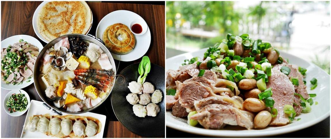 黃金張老甕東北酸菜白肉鍋~美味白滷手工麵食小點 天然發酵酸白菜鍋 天津商圈聚餐好地方