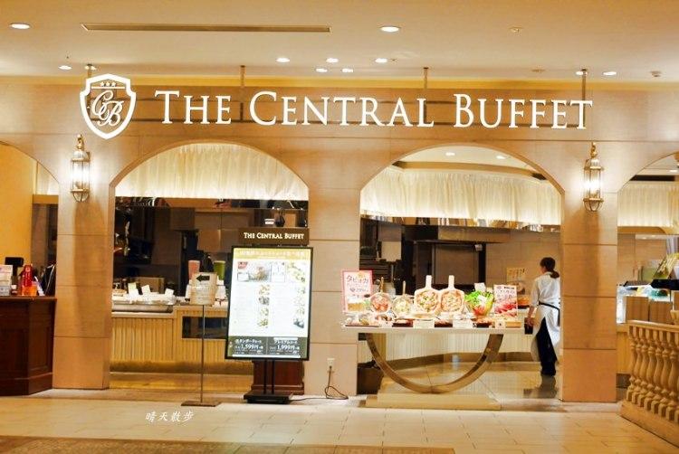 岡山AEON美食|THE CENTRAL BUFFET~岡山AEON Mall六樓吃到飽餐廳 中西式buffet 也有珍珠奶茶耶!