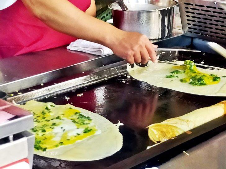 20191215222826 100 - 逢甲美食 明倫蛋餅~滿滿蔥花的粉漿蛋餅 逢甲夜市排隊小吃