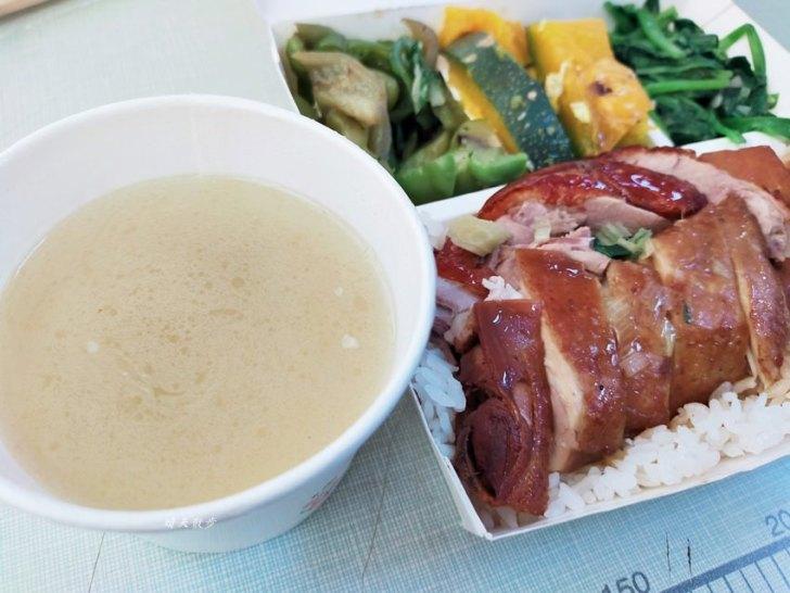 20200218162638 23 - 西區便當|香港鑫記燒肉快餐~各式燒臘、烤鴨便當好好吃,便當附湯一碗,配合UberEats外送
