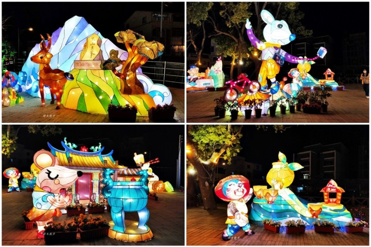 20200220163445 72 - 2020台灣燈會在台中~搭火車去后里逛台中燈會,森林園區好精彩,光之樹、聆聽花開永晝心、無人機秀、森林機械巨蟲秀!