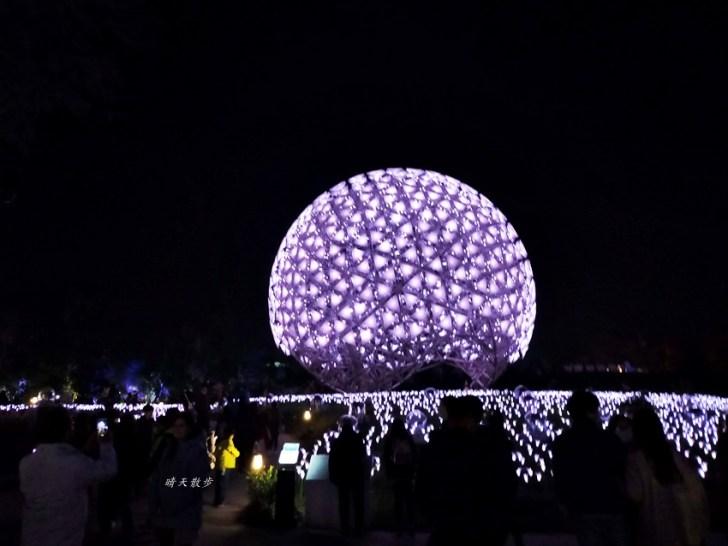 20200220163452 43 - 2020台灣燈會在台中~搭火車去后里逛台中燈會,森林園區好精彩,光之樹、聆聽花開永晝心、無人機秀、森林機械巨蟲秀!