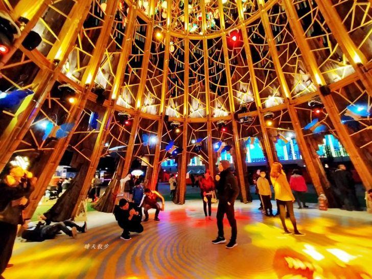 20200220163502 18 - 2020台灣燈會在台中~搭火車去后里逛台中燈會,森林園區好精彩,光之樹、聆聽花開永晝心、無人機秀、森林機械巨蟲秀!