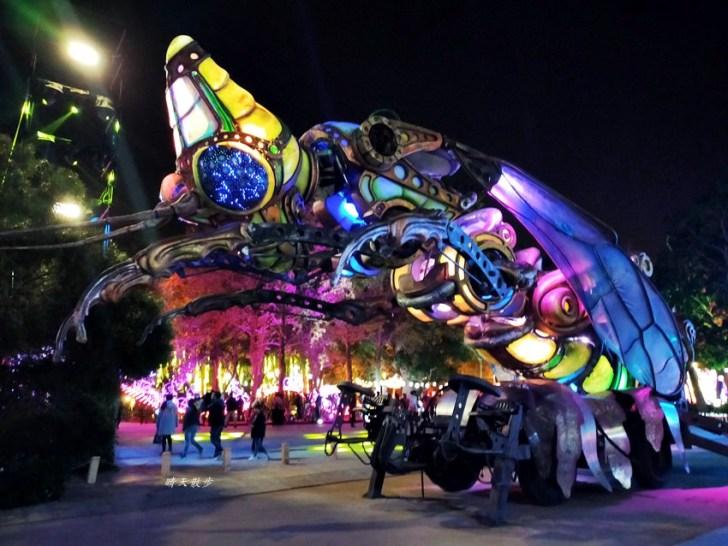 20200220163536 54 - 2020台灣燈會在台中~搭火車去后里逛台中燈會,森林園區好精彩,光之樹、聆聽花開永晝心、無人機秀、森林機械巨蟲秀!