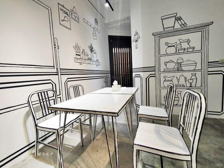 20200331230005 32 - 一起ㄔ雞~黑白漫畫風格的美式炸雞店,飲料、炸雞、炸物、簡餐通通有,還有炸全雞,近審計新村