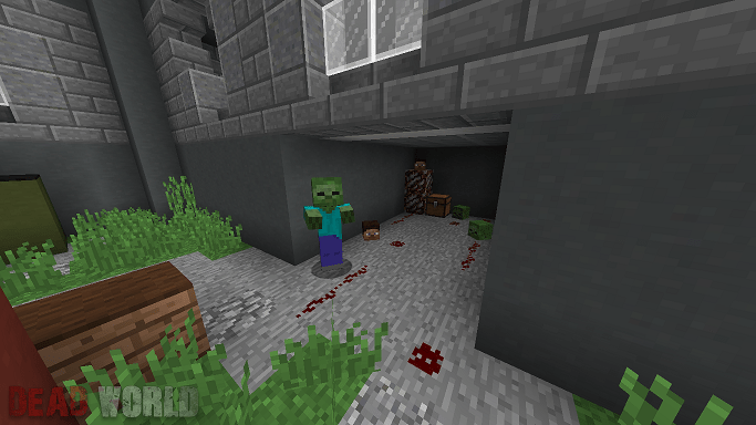 Dead World Zombie Adventure Map 6png