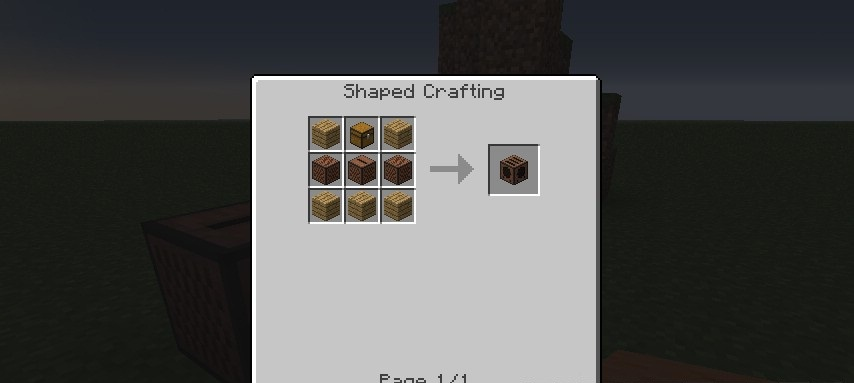 Command Block Recipe Minecraft Pe