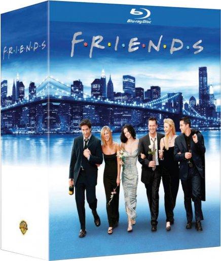 Friends : l intégrale en coffret Blu-Ray