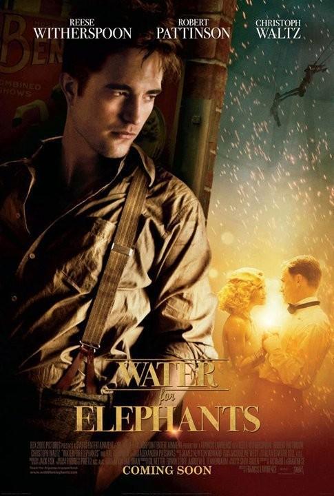 Film De L Eau Pour Les éléphants : éléphants, L'eau, Pattinson, Romantique