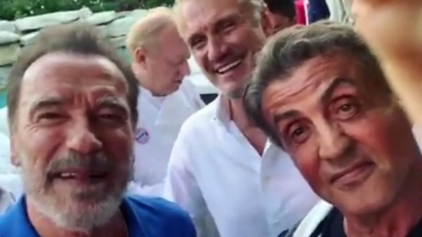 Sylvester Stallone pousse Al Pacino à se battre avec Dolph ...