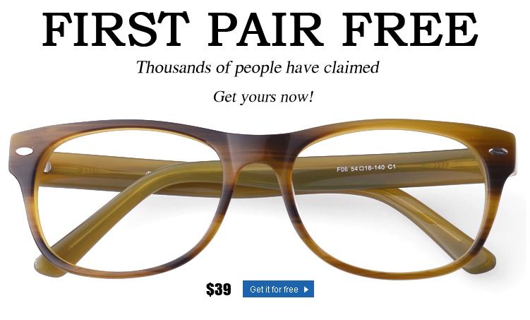 Free Pair Of Glasses Firmoo Code