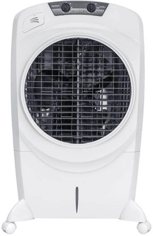 Maharaja Whiteline Coolz+ Desert Air Cooler(White, 55 Litres)