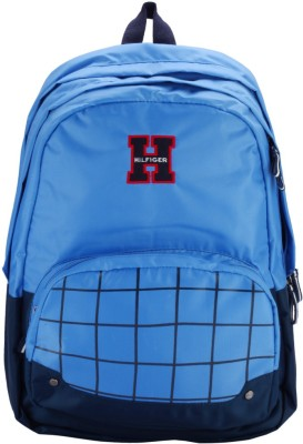 1% Off on Tommy Hilfiger Buddy Small 16.965 L Backpack(Light Blue)
