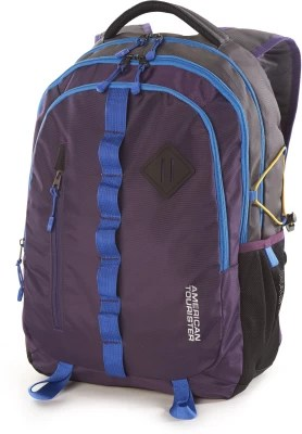 American Tourister Zing 2016 001 Laptop Backpack(Purple)