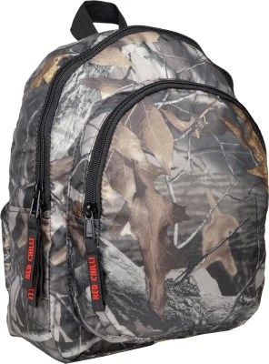 Red Chilli Camo Safari 8 L Free Size Backpack(Multicolor)