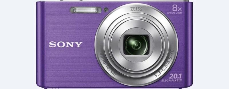 Sony DSC-W830/VC Point & Shoot Camera(Violet)
