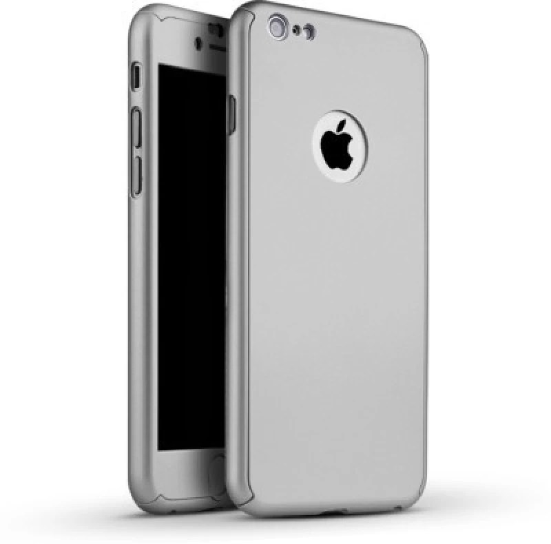 Trig Front & Back Case for Apple iPhone 6S Plus(Silver Front & Back Cover)