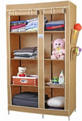 d203d00fe 37% OFF on CbeeSo Carbon Steel Collapsible Wardrobe
