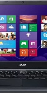 Acer E APU Quad Core A4 - (2 GB/500 GB HDD/Windows 8 Pro/512 MB Graphics) NX.M81SI.008 E1-522 Notebook(15.6 inch, Clarinet Black, 2.4 kg)
