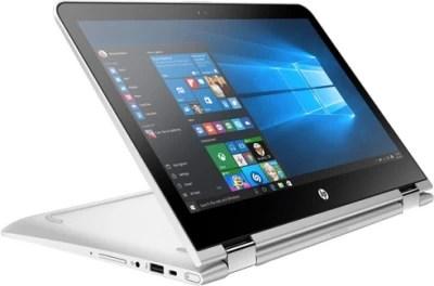 HP Core i7 7th Gen - (8 GB/256 GB SSD/Windows 10 Home) Z4Q58PA#ACJ 13-U135TU x360 2 in 1 Laptop(13.3 inch, Natural SIlver, 1.66 kg)