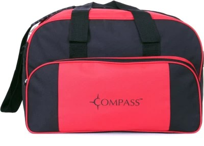 Compass Deluxe Large Size 20 inch/50 cm Travel Duffel Bag(Red)