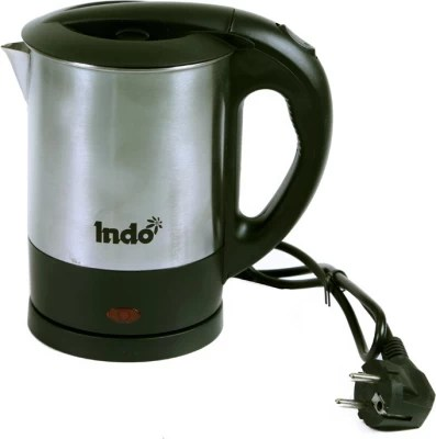 Indo IN-083-1202 Electric Kettle(1 L, Silver)