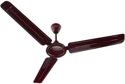 Bajaj Edge 3 Blade Ceiling Fan(Brown)