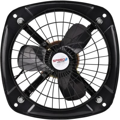 Speed Waves New_BLKFAN 3 Blade Exhaust Fan(Black)