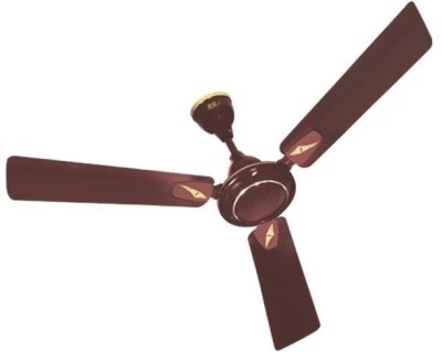 RR Brisa 3 Blade Ceiling Fan(Brown)