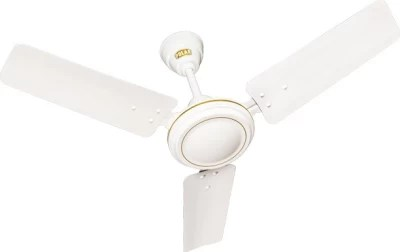 Polar Super Speed 3 Blade Ceiling Fan(White)