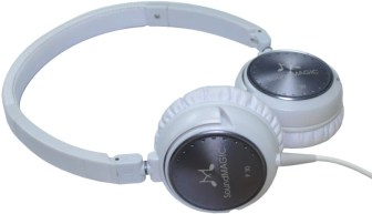 SoundMagic P30 Wired Headphones(White, On the Ear)